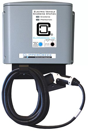 ClipperCreek Launches Itron Enabled Smart Metering Charging Station