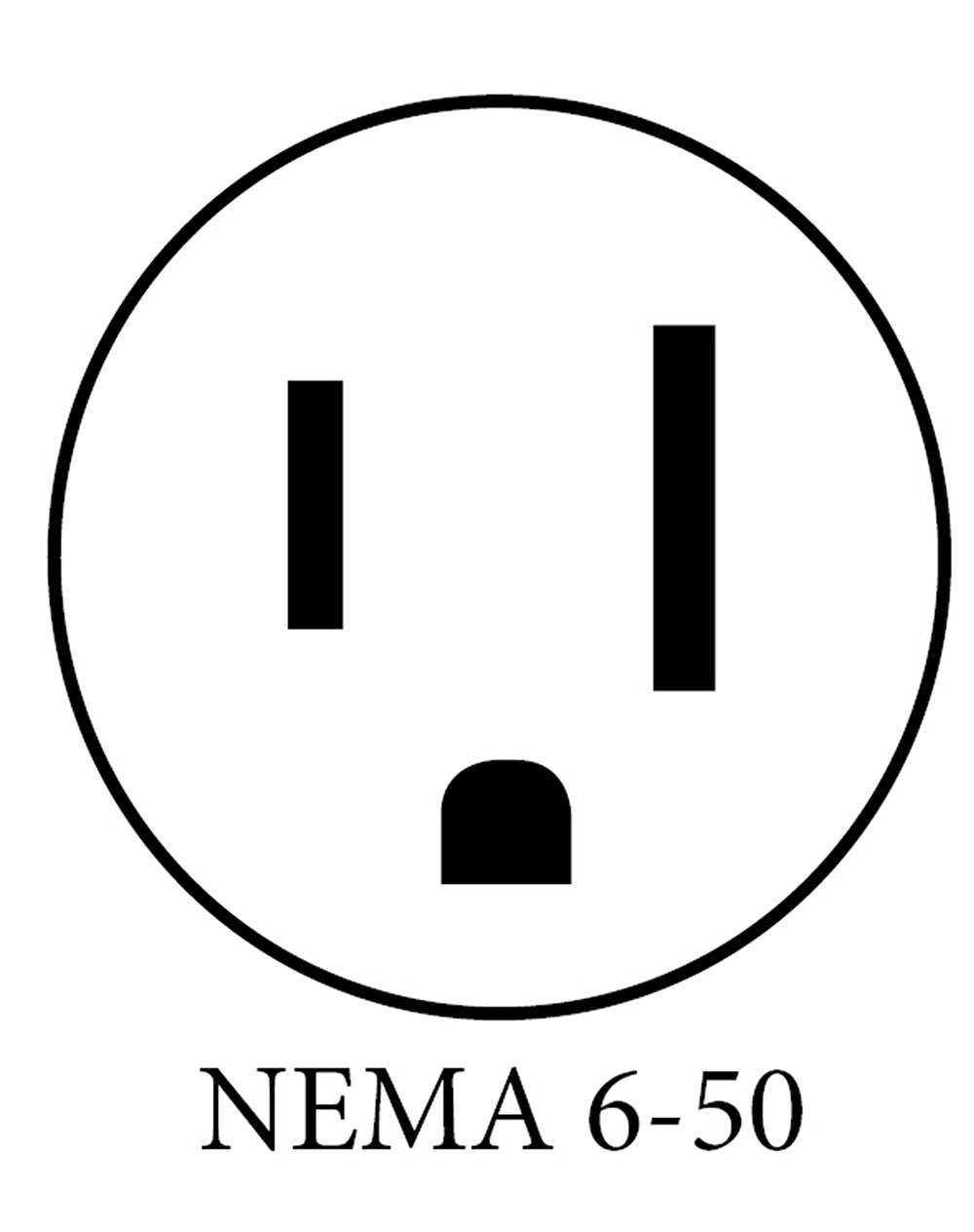 NEMA 6 50 PLUG DIAGRAMw what plugs are available on ev charging stations? nema plug diagrams at n-0.co