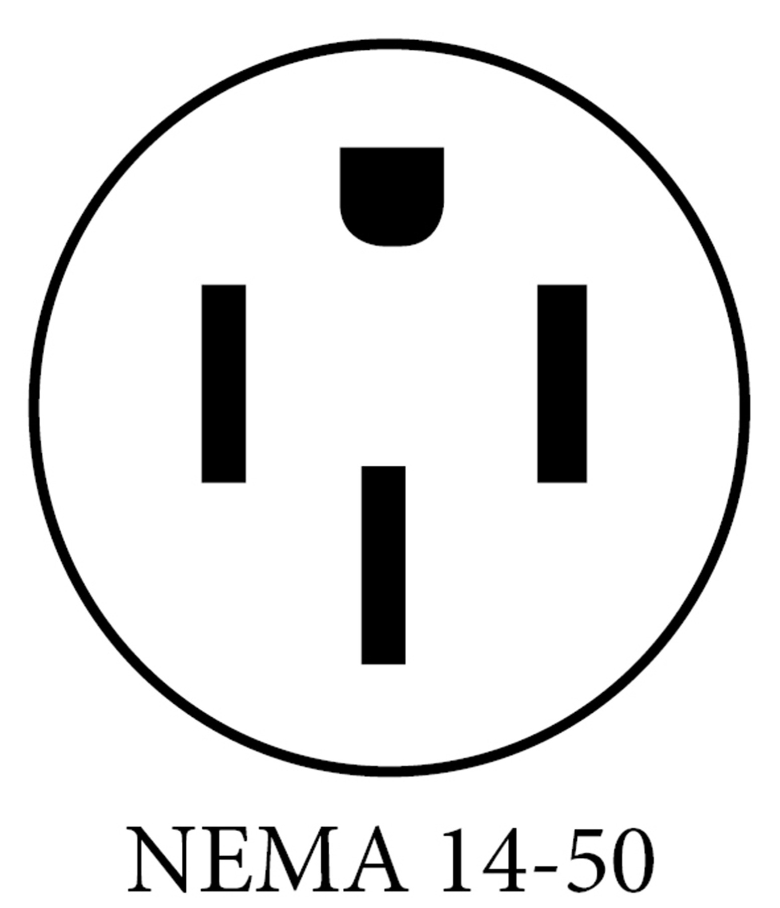 NEMA14 50 PLUG DIAGRAM upside down what plugs are available on ev charging stations? nema 14 50 wiring diagram at gsmx.co
