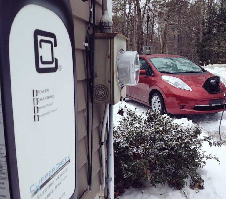 Ev Charging Outdoors Safety Reliability In Extreme Cold Snow Or Rain
