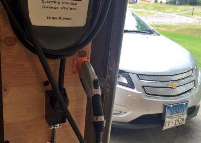 HCS-40 charging station for Volt installed in garage