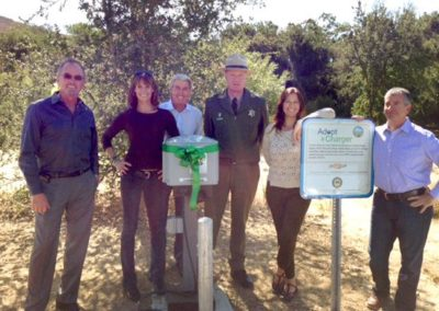 Adopt-a-Charger at Malibu Creek Leo Carrillo