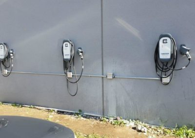 Canzam Electric San Jose CA EV charger installation ClipperCreek HCS