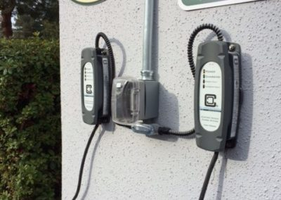 Canzam Electric San Jose CA EV charger installation ClipperCreek LCS EVSE