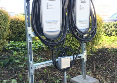 Canzam Electric San Jose CA EV charger installation HCS Hardwired