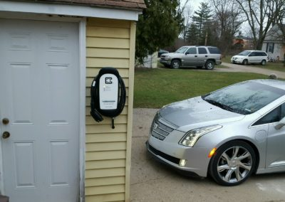 ClipperCreek EV Charger with Cadillac ELR