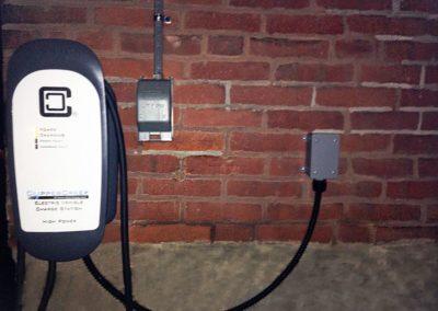 Customer Installation of HCS-40 EV Charging Station - Eckenrode
