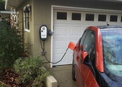 Customer Installation of HCS-40 EV Charging Station - Harvey