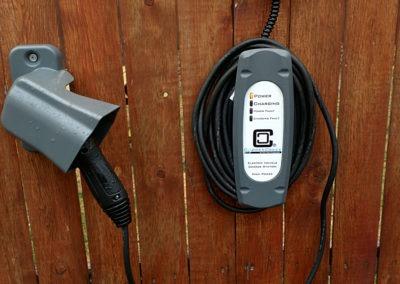 Customer Installation of LCS-25 EV Charging Station - Leonard