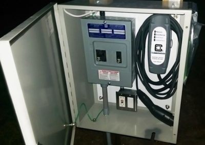 Customer Installation of LCS-20 EV Charging Station - Thelen