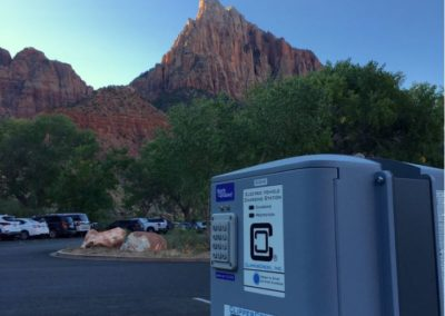 EV Charging at Zion National Park Visitor Center 2