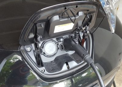 Nissan Leaf Plugged-In