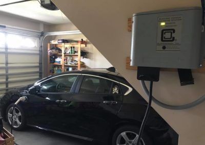 Residential charging with ClipperCreek CS Station Russell