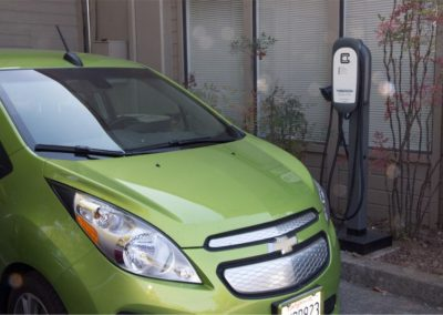 Charging station for chevy spark