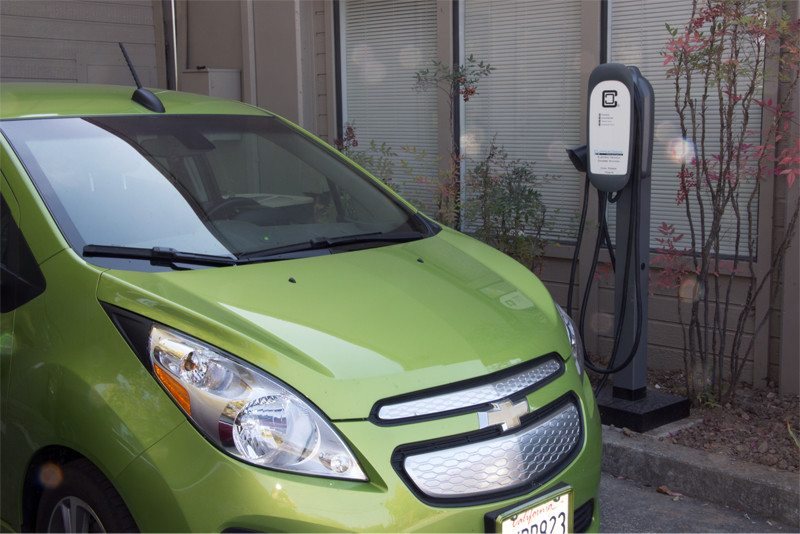 HCS-50 Electric Vehicle Charging Station Now Available