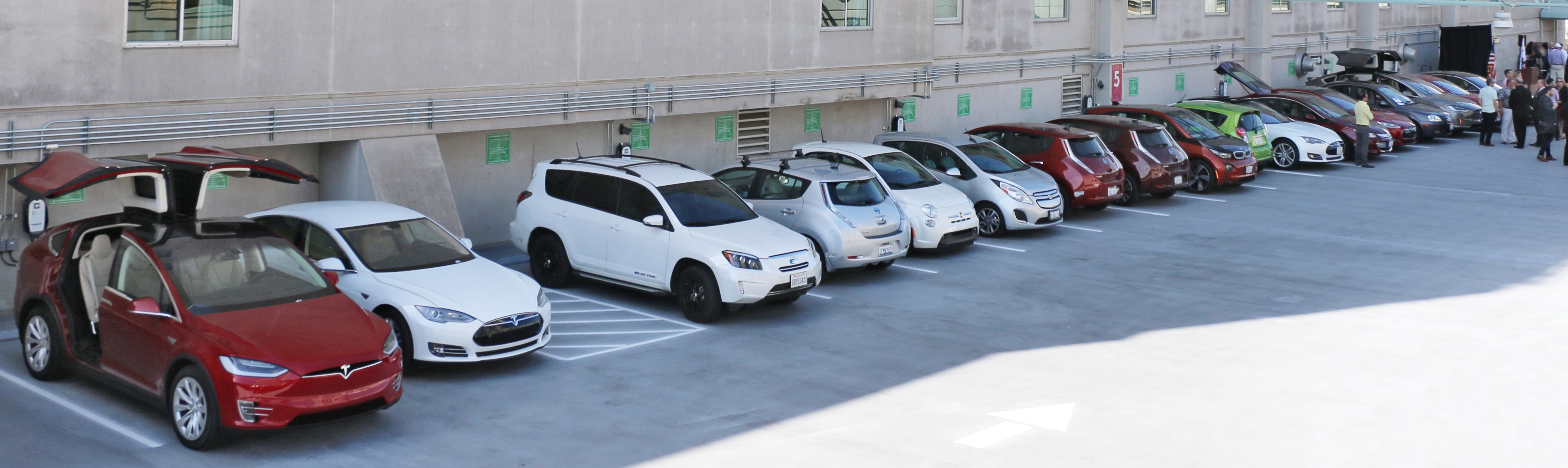 EVs Charging at Hyatt Regency Sacramento
