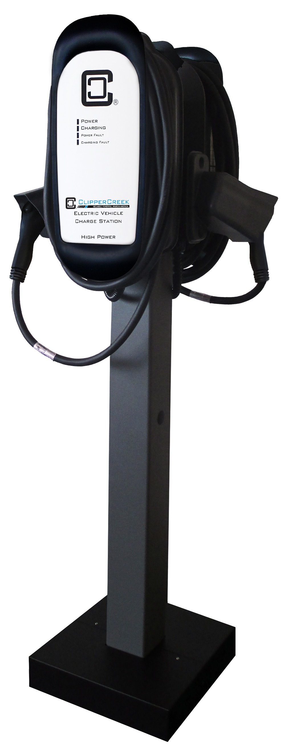 mounting solution pedestal for commercial evse