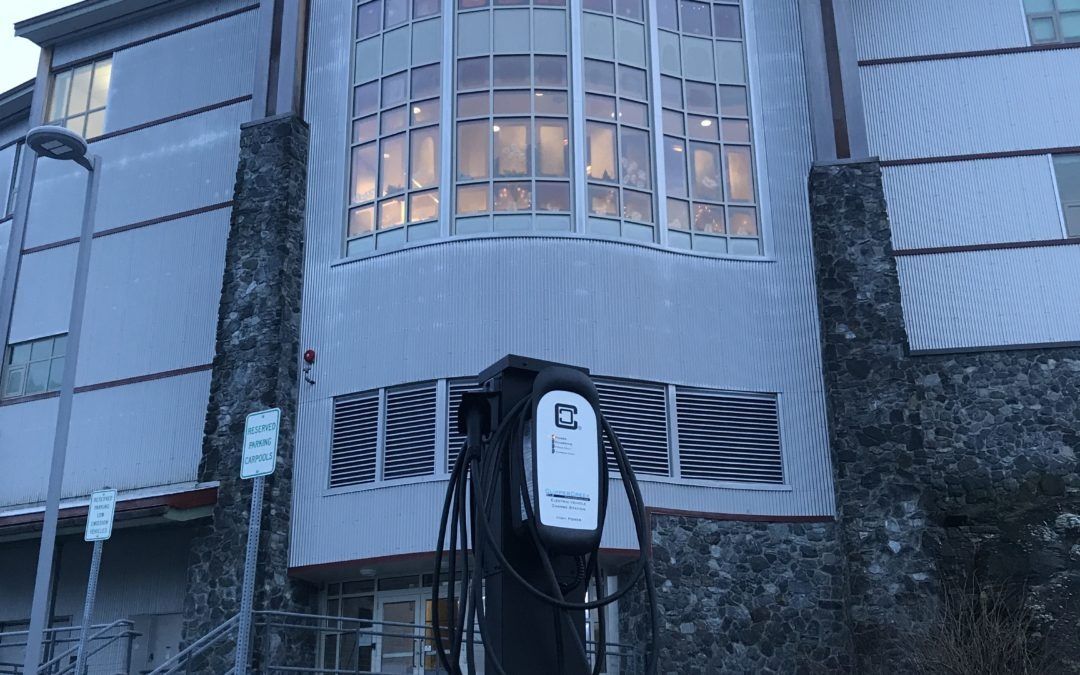 Cordova Electric Cooperative Installs Free Electric Car Charging Stations in Cordova, AK