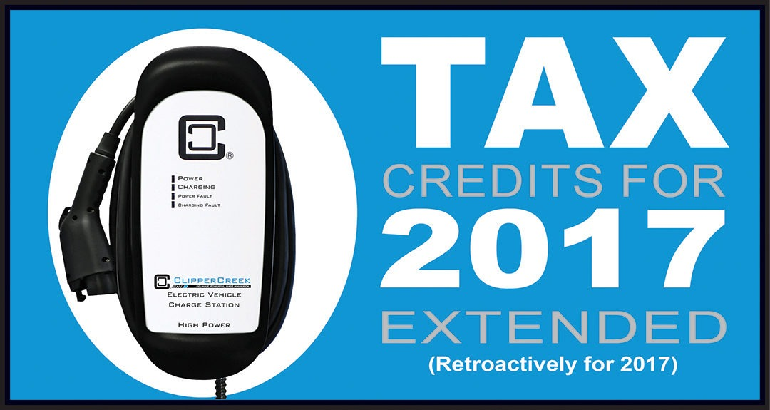 Tax Credits for 2017 – Extended!