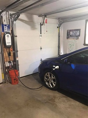 Chevy Volt And Model 3 Home Charging With Level 2 Evse