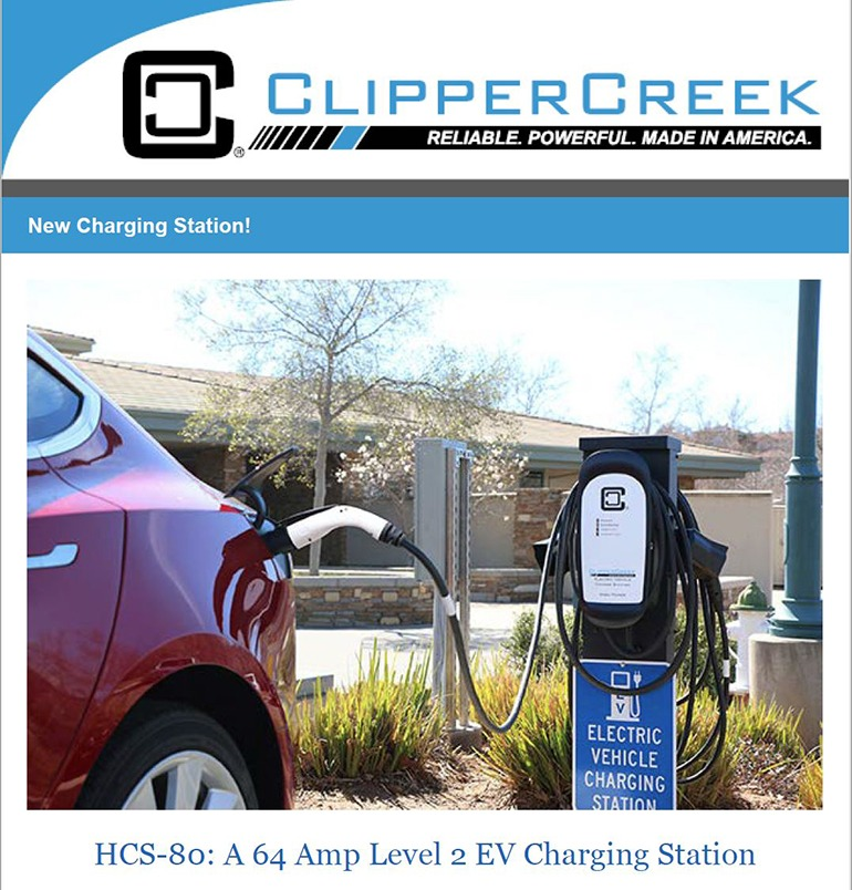 ClipperCreek Newsletter July 2017