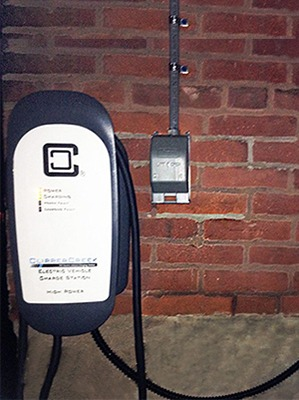 Customer Installation of HCS-40 EV Charging Station