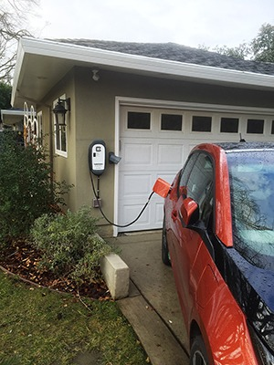 Customer Installation of HCS-40-EV Charging Station