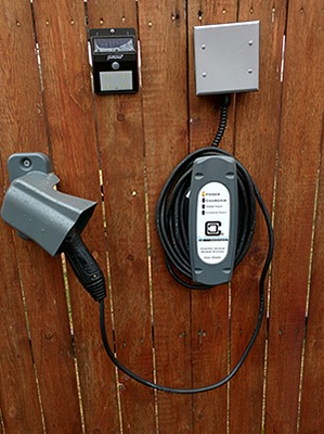 Customer Installation of LCS-30 EV Charging Station