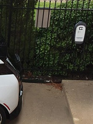 Customer Installation of HCS-40 EV Charging Station
