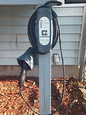 Customer Installation of LCS-25 EV Charging Station