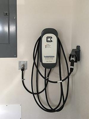 HCS home EVSE garage install