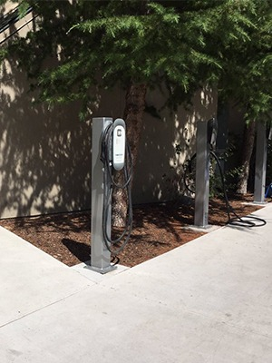 Electric Vehicle Charging at the Hyatt Lake Tahoe