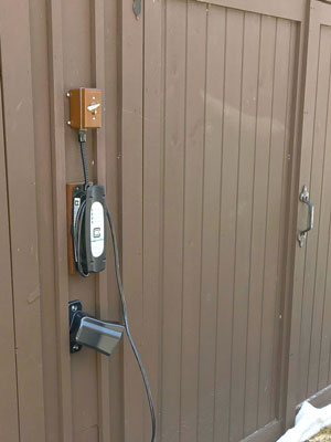 LCS Hardwired EVSE customer installation