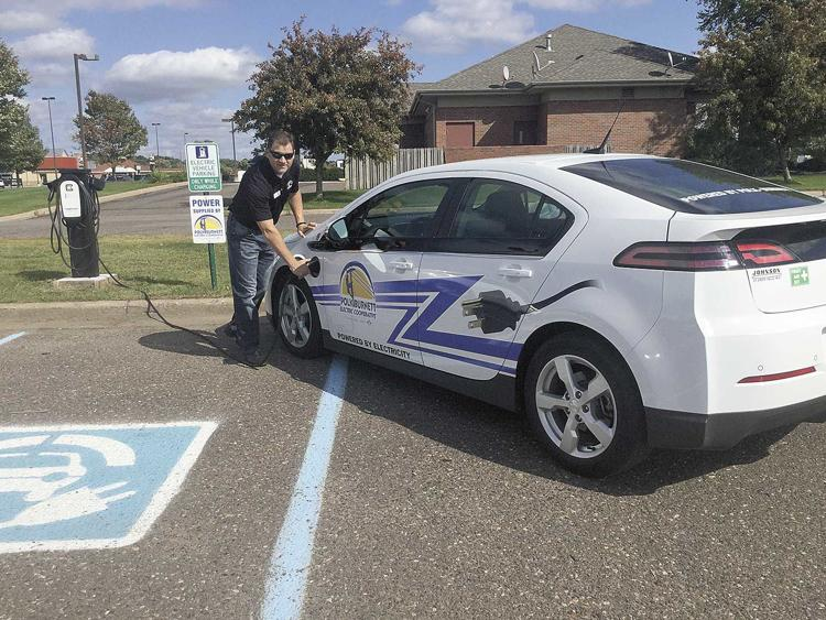 Electric co-op announces public electric vehicle charging station in St. Croix Falls