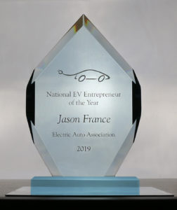 EAA Entrepreneur of the Year 2019 Jason France ClipperCreek